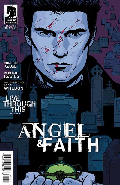 Cover for Angel & Faith (Dark Horse, 2011 series) #4