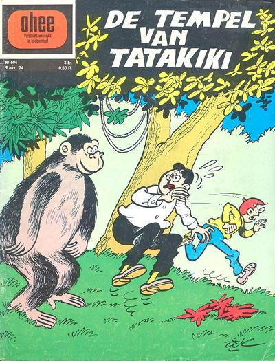Cover for Ohee (Het Volk, 1963 series) #604