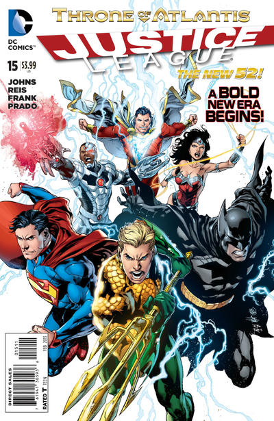 Cover for Justice League (DC, 2011 series) #15 [Standard Ivan Reis Cover]