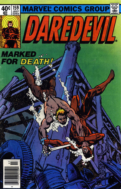 Cover for Daredevil (Marvel, 1964 series) #159 [Newsstand Edition]