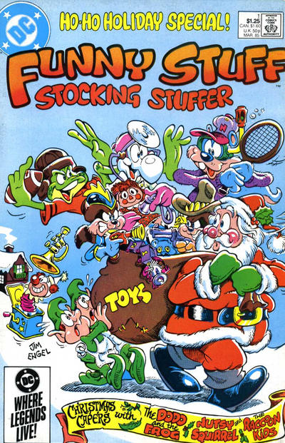 Cover for Funny Stuff Stocking Stuffer (DC, 1985 series) #1 [Direct Edition]