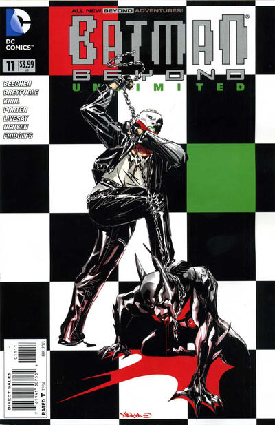 Cover for Batman Beyond Unlimited (DC, 2012 series) #11