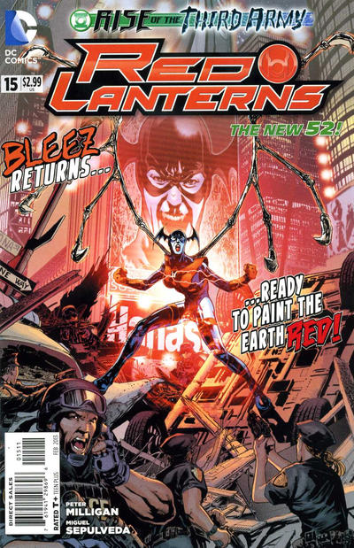 Cover for Red Lanterns (DC, 2011 series) #15