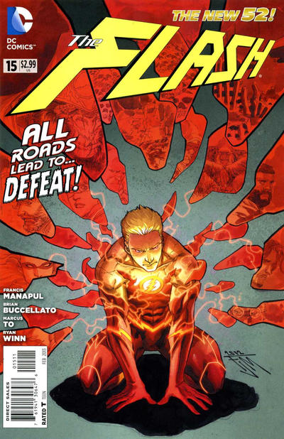 Cover for The Flash (DC, 2011 series) #15