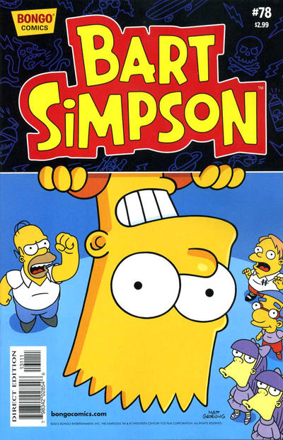 Cover for Simpsons Comics Presents Bart Simpson (Bongo, 2000 series) #78
