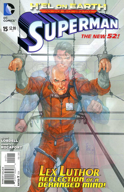 Cover for Superman (DC, 2011 series) #15 [Direct Sales]