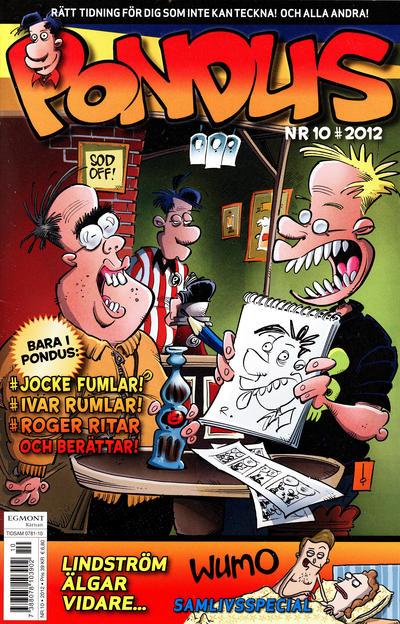 Cover for Pondus (Egmont, 2010 series) #10/2012