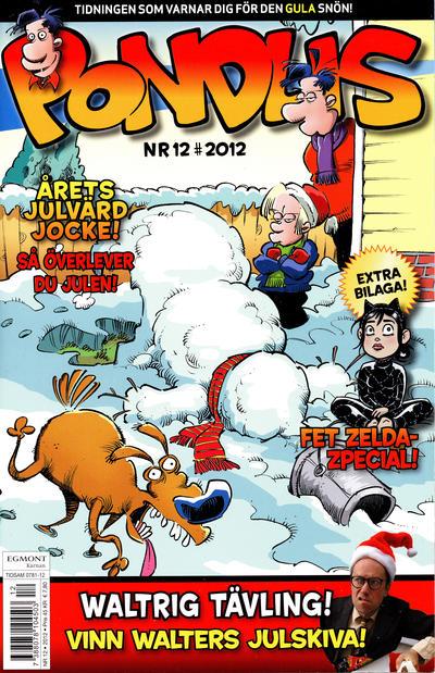 Cover for Pondus (Egmont, 2010 series) #12/2012