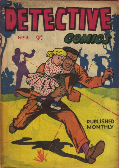 Cover for Detective Comics (Frew Publications, 1955 ? series) #3