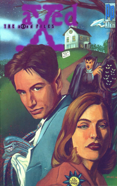 Cover for The Axed Files (Entity-Parody, 1995 series) #1