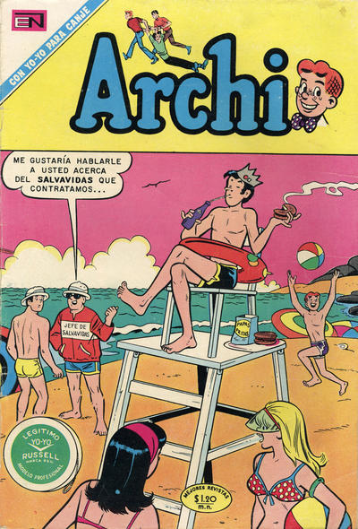 Cover for Archi (Editorial Novaro, 1956 series) #413