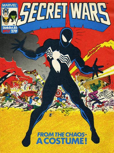 Cover for Marvel Super Heroes Secret Wars (Marvel UK, 1985 series) #17