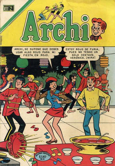 Cover for Archi (Editorial Novaro, 1956 series) #369