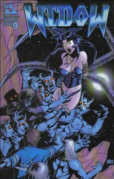 Cover for Widow X (Avatar Press, 1999 series) #9