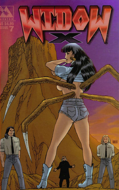 Cover for Widow X (Avatar Press, 1999 series) #7