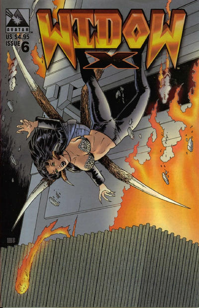 Cover for Widow X (Avatar Press, 1999 series) #6 [Regular edition]