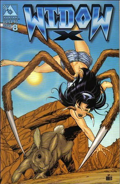 Cover for Widow X (Avatar Press, 1999 series) #8 [Regular edition]