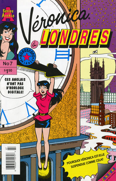 Cover for Véronica (Editions Héritage, 1993 series) #7