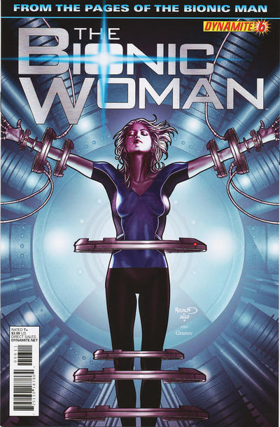 Cover for The Bionic Woman (Dynamite Entertainment, 2012 series) #6