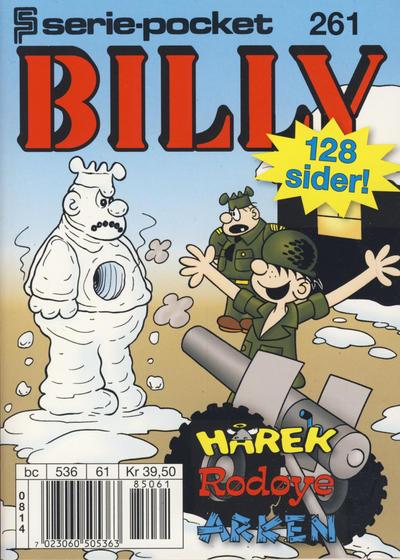 Cover for Serie-pocket (Hjemmet / Egmont, 1998 series) #261 [Reutsendelse]