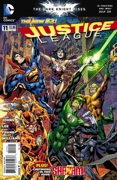 Cover for Justice League (DC, 2011 series) #11