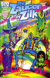 Cover for Zaucer of Zilk (IDW, 2012 series) #1