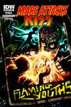 Cover Thumbnail for Mars Attacks Kiss (2013 series)