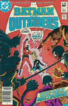 Cover for Batman and the Outsiders (DC, 1983 series) #4 [Newsstand]