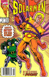 Cover for Solarman (Marvel, 1989 series) #2 [Newsstand]