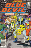 Cover Thumbnail for Blue Devil (1984 series) #18 [Newsstand]