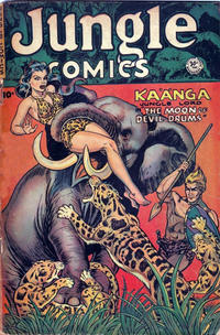 Cover Thumbnail for Jungle Comics (Superior Publishers Limited, 1951 series) #143
