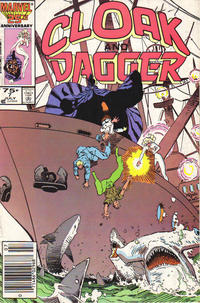 Cover Thumbnail for Cloak and Dagger (Marvel, 1985 series) #7 [Newsstand Edition]