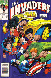 Cover Thumbnail for The Invaders (Marvel, 1993 series) #2 [Newsstand]
