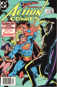 Cover Thumbnail for Action Comics (DC, 1938 series) #562 [Newsstand]