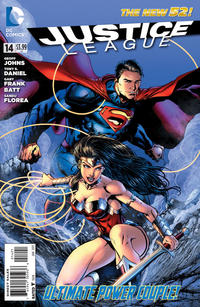 Cover Thumbnail for Justice League (DC, 2011 series) #14 [Variant Cover by Jason Fabok]