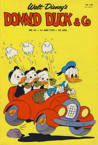 Cover for Donald Duck & Co (Hjemmet / Egmont, 1948 series) #25/1970