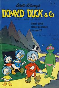 Cover Thumbnail for Donald Duck & Co (Hjemmet / Egmont, 1948 series) #33/1970