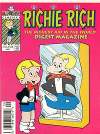 Cover Thumbnail for Richie Rich Digest Magazine (Harvey, 1986 series) #38 [Newsstand]