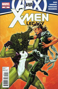 Cover Thumbnail for X-Men: Legacy (Marvel, 2008 series) #266