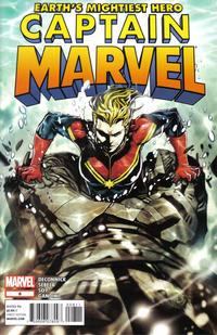 Cover Thumbnail for Captain Marvel (Marvel, 2012 series) #8