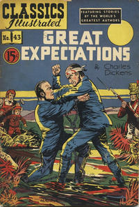 Cover Thumbnail for Classics Illustrated (Gilberton, 1948 series) #43