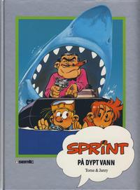 Cover Thumbnail for Sprint [Seriesamlerklubben] (Semic, 1986 series) #[41] - På dypt vann