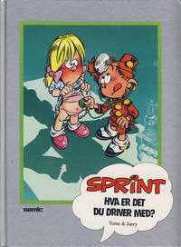 Cover Thumbnail for Sprint [Seriesamlerklubben] (Semic, 1986 series) #[42] - Hva er det du driver med?
