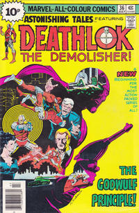 Cover Thumbnail for Astonishing Tales (Marvel, 1970 series) #36 [British]