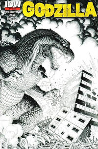 Cover Thumbnail for Godzilla (IDW, 2012 series) #1 [2nd Printing]