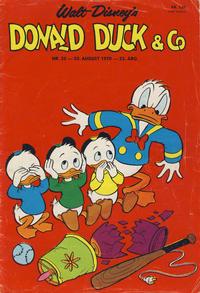 Cover Thumbnail for Donald Duck & Co (Hjemmet / Egmont, 1948 series) #35/1970