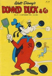 Cover Thumbnail for Donald Duck & Co (Hjemmet / Egmont, 1948 series) #37/1970
