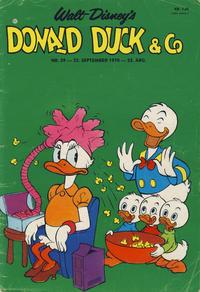 Cover Thumbnail for Donald Duck & Co (Hjemmet / Egmont, 1948 series) #39/1970