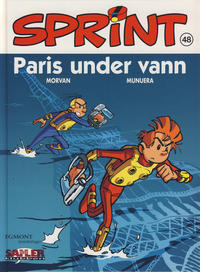 Cover Thumbnail for Sprint [Seriesamlerklubben] (Hjemmet / Egmont, 1998 series) #48 - Paris under vann