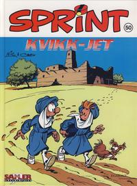 Cover Thumbnail for Sprint [Seriesamlerklubben] (Hjemmet / Egmont, 1998 series) #50 - Kvikk-jet